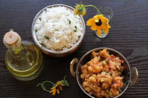 Aloo Gobhi (Cauliflower curry)