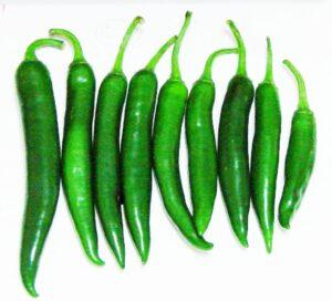 Chilli Green (मिर्च हरा)