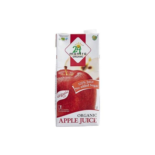 24 Lm Organic Apple Juice