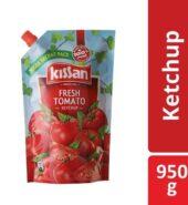 Kissan Fresh Tomato Ketchup, 950 g Pouch
