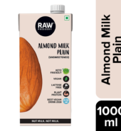 Almond Milk – Unsweetened 1Lt By Raw Pressery