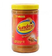 Sundrop Peanut Butter Crunchy 462G
