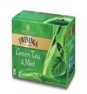 Twinings Green Tea With Mint Pack Of 25 Bags