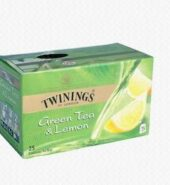 Twinings Green Tea With Lemon Pack Of 25 Bags