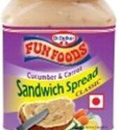 Fun Foods Cucumber & Carrot Sandwich Spread Classic 275G