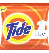 Tide Plus Detergent Powder Extra Power Lemon & Mint 500 G